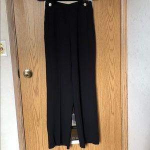 H&M Black High-Waisted Pants 4